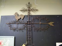 Antique Hand Wrought Metal Weathervane in Warner Robins, Georgia