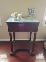 Side table Marbel top in Gainesville, Georgia