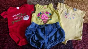 Lot of Baby Girl Clothes Sizes 6-12 Months in Lawton, Oklahoma