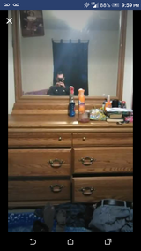 Mirror dresser with 6 drawers in Lawton, Oklahoma