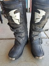 Thor boots in Travis AFB, California