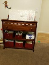 Changing table with pad in Fort Irwin, California