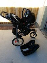 Graco Jogging stroller with carseat and base in Fort Irwin, California