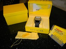 Men's INVICTA S1 Rally Chronograph Tonneau Wrist Watch Black & Silver in Kingwood, Texas