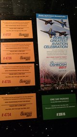 Oshkosh Air Show Tickets in Naperville, Illinois