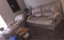 leather couch and lounger in Fort Campbell, Kentucky
