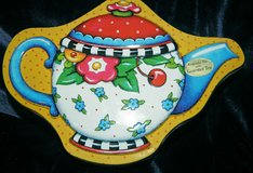 2002 Mary Engelbreit Oh So Breit Keepsake Tin with Gourmet Cherry Tea Retired in Great Lakes, Illinois