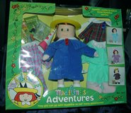 "1999 12"" Madeline's Adventures Doll with Clothes and Books - Retired in Great Lakes, Illinois"