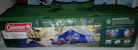 Coleman 4 person tent in Byron, Georgia