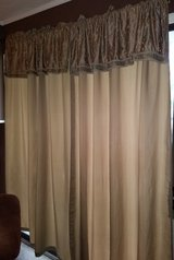 Large curtains 2 panels in Warner Robins, Georgia