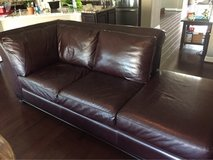 PLUSH LEATHER $5,000 BRAND NEW COUCH SECTIONAL in Spring, Texas