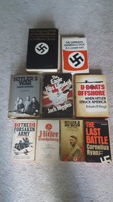 Vintage 1960-1970s books about ww2 and germany. All in english in Bolingbrook, Illinois