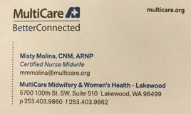 Multicare Midwifery & Womens Health in Fort Lewis, Washington