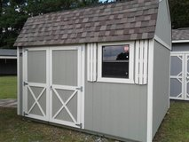 Cook 10x12 Lofted Garden Shed - LIFETIME WARRANTY & FREE DELIVERY/ SETUP in Fort Benning, Georgia
