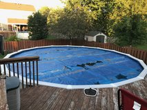 Above ground pool 24 ft round in Bartlett, Illinois