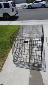 Large collabsable dog crate in Camp Pendleton, California