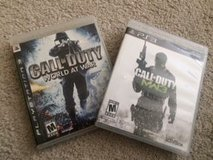 PS3 Set of 2 Call of Duty Games in Batavia, Illinois