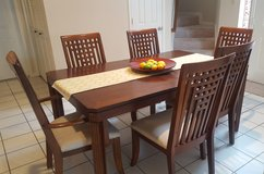 Dining Room Table and Chairs in Bellaire, Texas
