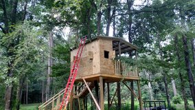 Need a treehouse built in The Woodlands, Texas
