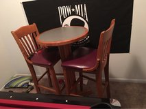 table with 2 high chairs in Yokota, Japan