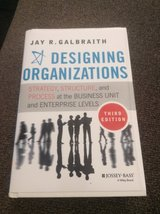 Designing Organization by Jay R Galbraith in Naperville, Illinois
