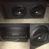 """2 12"""" Hertz Subs with Audison SR 5 Amp in Hinesville, Georgia"""