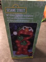 Elmo Christmas decoration in Cherry Point, North Carolina