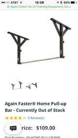 Again Faster Pull Up Bar in Fort Knox, Kentucky