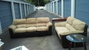 Couch,loveseat,two tables in Warner Robins, Georgia