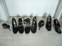 Ladies high heels black various styles excellent shape in Stuttgart, GE