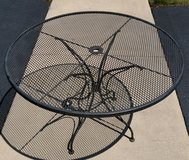WROUGHT IRON PATIO TABLE in Joliet, Illinois