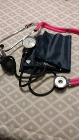 blood pressure cuff and stethoscope in Warner Robins, Georgia