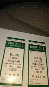 Biily Joel field tickets Wrigley Field in Naperville, Illinois