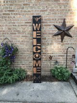 2nd Amendment Porch Patio Welcome Sign in Joliet, Illinois