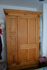 ANTIQUE Wooden Farmhouse wardrobe from Germany 1860 in Wiesbaden, GE