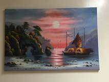 canvas painting in Okinawa, Japan