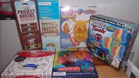 Unopened Toy Lot in Fort Knox, Kentucky