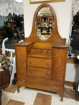Antique Tiger Oak Dresser in Fort Leonard Wood, Missouri
