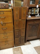 Oak Vertical File Cabinet AFI Co in Fort Leonard Wood, Missouri