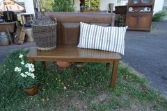 small antique hall way bench in Ramstein, Germany