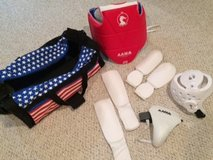 Youth Sparring Gear and Duffel Bag in Aurora, Illinois