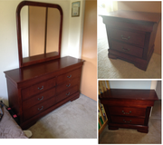 Dresser w/ mirror and two night stands in Colorado Springs, Colorado