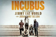Incubus feat. Jimmy Eat World Tickets in Great Lakes, Illinois