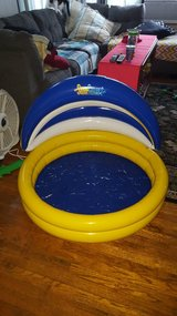 aqua child's inflatable pool with smart shade new in Oswego, Illinois