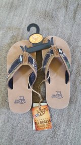 Justin boots flip flops youth med new in Batavia, Illinois