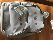 Pusheen Cat backpack & matching pencil bag in Schofield Barracks, Hawaii