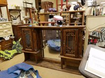 GORGEOUS solid wood ornate lighted hutch in Chicago, Illinois