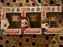 Funko Pop! The Big Bang Theory Figures in Camp Lejeune, North Carolina