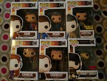 Funko Pop! Supernatural Figures in Camp Lejeune, North Carolina
