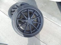 Rohana Wheels with Tires in Fort Riley, Kansas